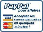 Inscrivez-vous à PayPal et acceptez dès aujourd'hui les paiements en ligne.