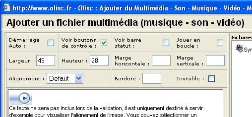 Le plein d'options pour la maîtrise totale du multimédia sur vos pages web.